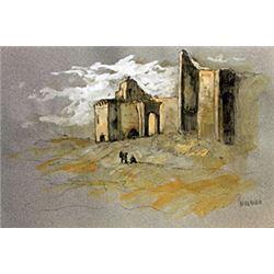 Outer Walls - Cornelius Van Poelenburgh