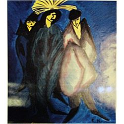 Ernst Ludwig Kirchner - Characters Night