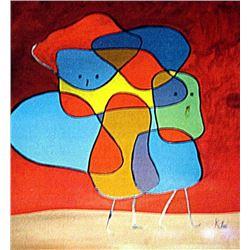 Paul Klee - Siblings IV