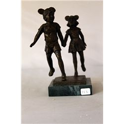 The Veteran - Bronze Sculpture - after Dennis Smith