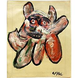 The Dog 1980' - Karel Appel