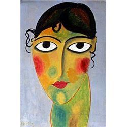 Portrait of a Woman - Alexej Von Jawlensky