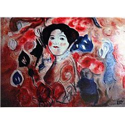 Gustav Klimt - Dannae