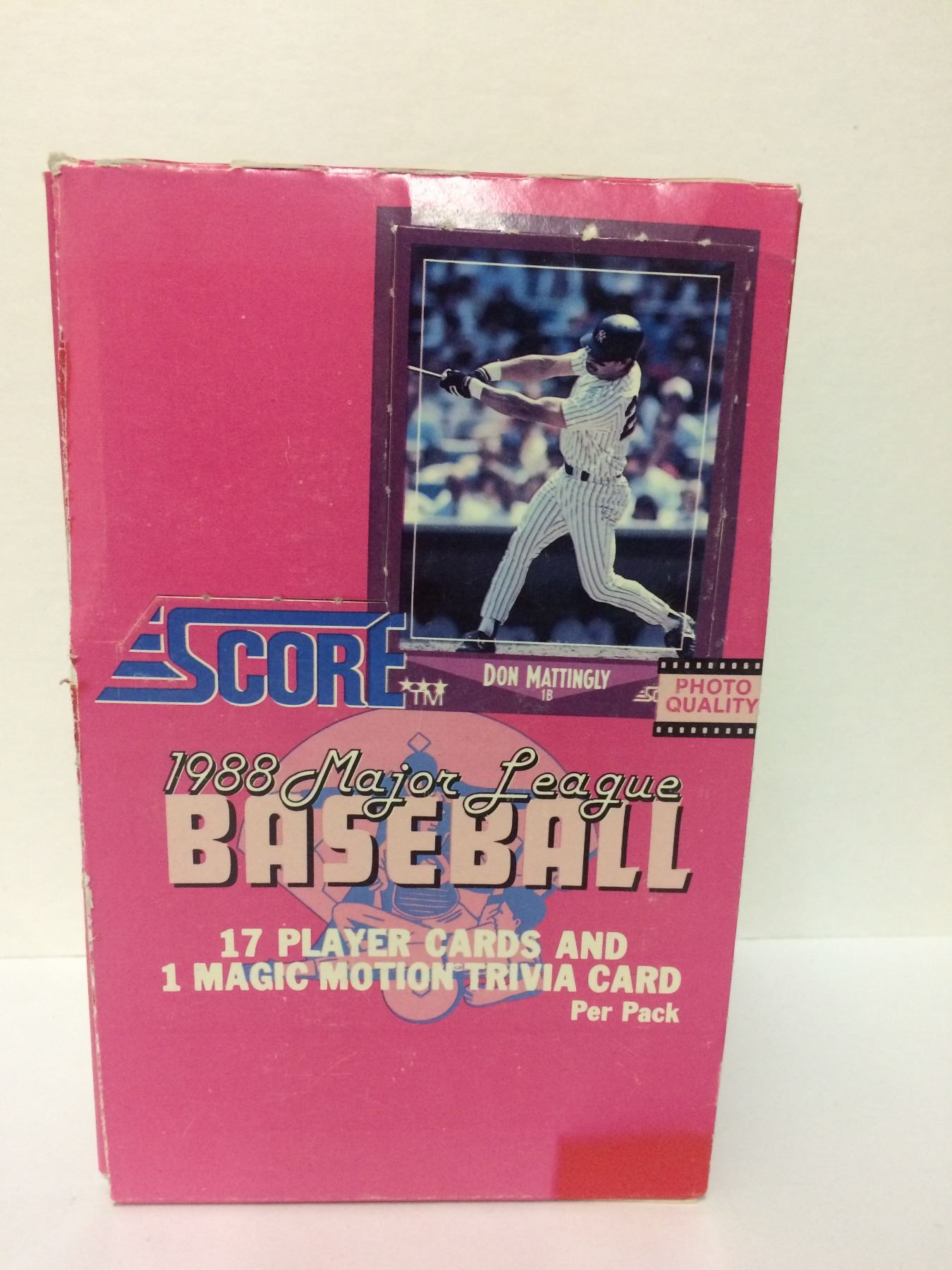 1988 Score Major League Baseball Cards Set