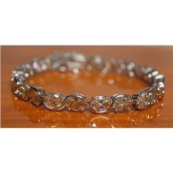Beautiful Bracelet with Champagne Diamond