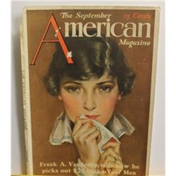 Early 1900's Vintage Magazine Article
