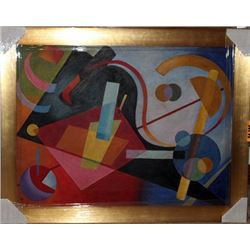 Oil on Canvas Kandinsky