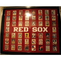 Boston Red Socks Giclee Trading Cards