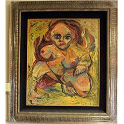 Oil on Canvas Kooning