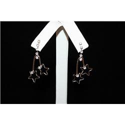 Fine Star Silver Earrings (6E)