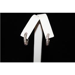 Fine Hoop Silver Earrings (29E)
