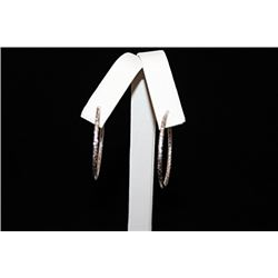 Stunning Hoop Silver Earrings (30E)