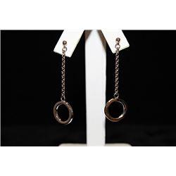 Fine Ring Silver Earrings (39E)