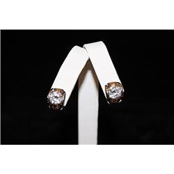 Dazzling Silver Stud Earrings (44E)