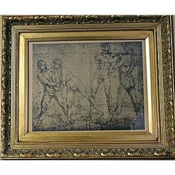 Framed Engraving (18E-EK)