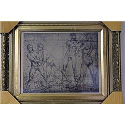 Framed Engraving (19E-EK)