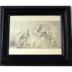 Framed Engraving (63E-EK)