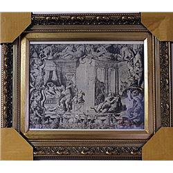 Framed Engraving (70E-EK)