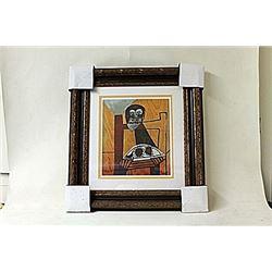 Framed Picasso Lithograph (241E-EK)