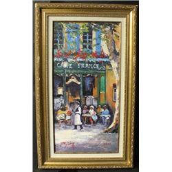 """""""CAFÉ FRANCE"""" By JAMES PRATT (N)"""