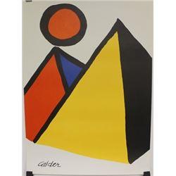 """Pyramids and Sun"" By Alexander Calder"