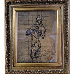 Framed Engraving (42E-EK)