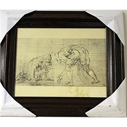 Framed Engraving (62E-EK)
