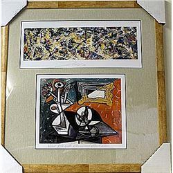 Framed 2-in-1 Lithographs (79E-EK)