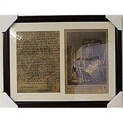 Framed 2-in-1 Engravings (93E-EK)