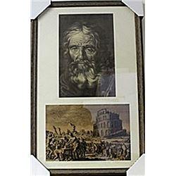 Framed Lithographs (143E-EK)
