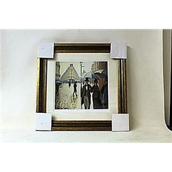 Framed Gustave Cailebotte Lithograph (4189E-EK)