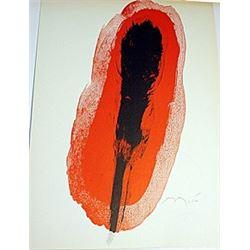 Lithograph  Joan Miro