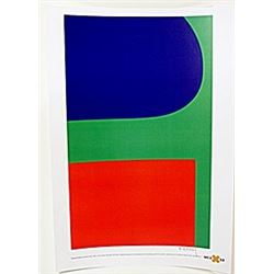 "Lithograph ""Red Blue Green""  Ellsworth Kelly"