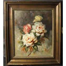 """WINDOW ROSES"" By UNKNOWN ARTIST (N)"