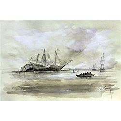 Shipwreck Bay - Roelant Savery