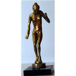 Nude - Gold over Bronze Sculpture - after Leo Mol