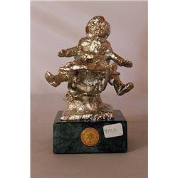 Silver Sculpture - after Dennis Smith
