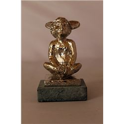 Mickey's Ears - Silver Sculpture - after Dennis Smith