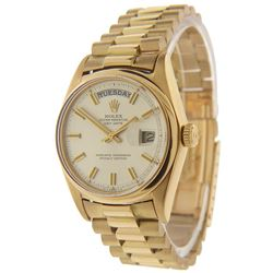 Men's 18K Gold Day-Date Rolex Watch