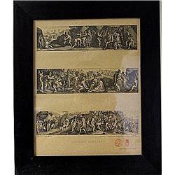 Framed Histoire Romaine Engraving (74E-EK)