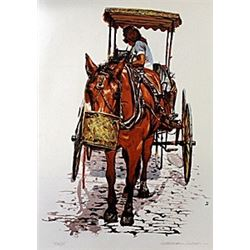 Hand Signed Serigraph  William Nelson