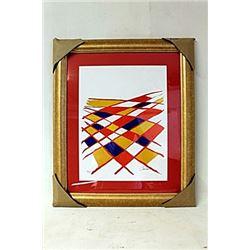 Limited Edition By Alexander Calder. (268E-EK)
