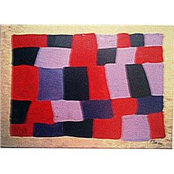 Paul Klee - The Fire