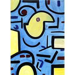 The Bird - Oil on Paper - Paul Klee