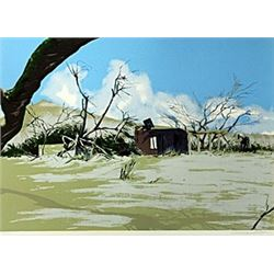 Hand Signed Lithograph  William Nelson