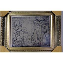 Framed Engraving (19E-EK)
