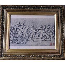 Framed Engraving (22E-EK)