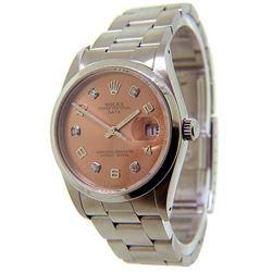 Men's Date Rolex Watch
