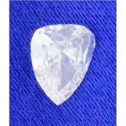 EGL Certified Pear Brilliant 0.73 carat Diamond