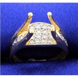 Unique Diamond Ring Mounting